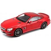 Maisto 1:18 Mercedes-Benz SL 63 AMG Hard Top, Red