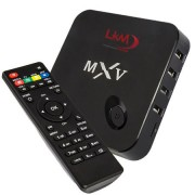 LKM Android mini PC MXV Quad-core TV Box 1GB di RAM, OTG HDMI DLNA WIFI 8GB