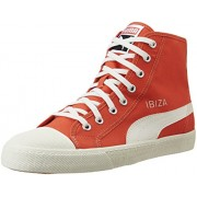 Puma Men's Puma Ibiza Mid Nm #1 Unisex Poinciana Sneakers - 9.5 UK/India (44 EU)