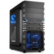 Carcasa VG4-W Black , MiddleTower, Fara sursa, Negru
