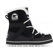 Sorel Glacy Explorer Shortie Snowboots Dames - Black - Maat 42