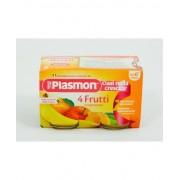 Plasmon (Heinz Italia Spa) Plasmon Omogeneizzato 4 Frutti 2x104g