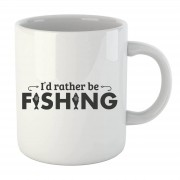 The Dad Collection I'd Rather be Fishing mok