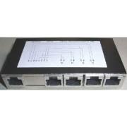 599030 - TK-Verteiler 4-Port 2-pol. RJ45 599030