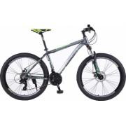 Bicicleta Mountain Bike cadru aluminiu 26 roti 26 inch 21 viteze schimbator Shimano suspensii furca frane disc PHOENIX