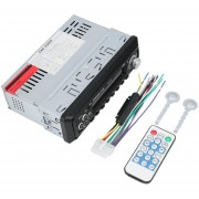 ER Coche Bluetooth Receptor De Radio FM Digital MP3 Reproductor De Música Estéreo De Audio USB. -Negro