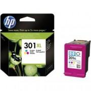 HP Inkoustová kazeta 301 XL originál azurová, purppurová, žlutá CH564EE