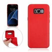 TPU Funda protectora para Samsung Galaxy S8 Plus - Rojo