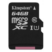 Kingston minneskort microSDXC 64GB