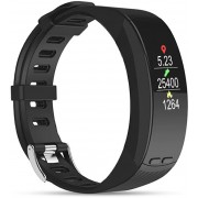 Deveroux Deveroux P5 GPS fitness náramek - černý