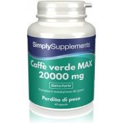 Simply Supplements Caffè verde MAX 20000 mg - 60 Capsule