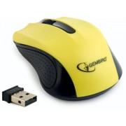 Mouse Gembird MUSW-101, Wireless (Galben)