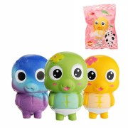 Simela Squishy Turtle Tortoise Slow Rising 11cm Cute Soft Gift Collection Toy With Packing