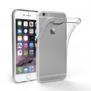 Ултра тънък силиконов гръб за Apple Iphone 5C, 5, 5S, SE - прозрачен