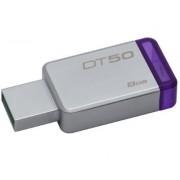 Kingston 8GB DT USB 3.0 DT50/8GB metal - ljubičasti