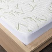 Protecție saltea 4Home Bamboo cu bordură, 180 x 200 cm + 30 cm, 180 x 200 cm