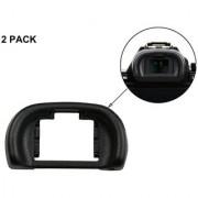 Cam Cart EP11 Black Eyepiece Eyecup Eye Cup Viewfinder For Sony A7 A7S A7R A7 II A7S II ( Pack of 2 )