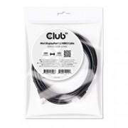 CLUB3D MINI DISPLAYPORT 1.2 2M 4K 60HZ