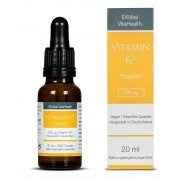 Vitamin K2 - Menaquinon MK-7 all-trans-Vitamin hochdosiert von EXVi...