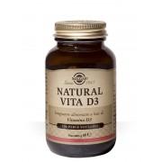Solgar Natural Vita D3 integratore di Vitamina D3 (120 perle softgel)