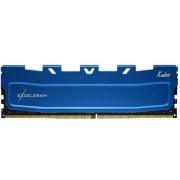 Memorie Exceleram Blue Kudos, DDR4, 1x8GB, 2400MHz CL 17