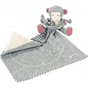 Käthe Kruse Towel Doll Monkey Carlo Grey 0174905