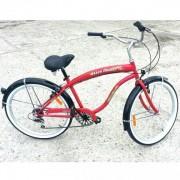 Bicicleta 6 Viteze Best Laux Beach Cruiser LB2602