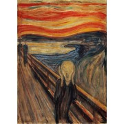Puzzle Clementoni - Edvard Munch: The Scream, 1.000 piese (60899)