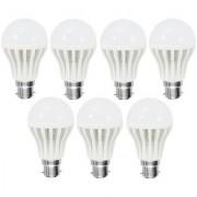 COMBO OF 7 PCS 9 W LED BULB - BRIGHT WHITE LIGHT