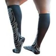 Xpandasox Zebra - zwart 41 - 43 - Xpandasox