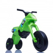 Tricicleta fara pedale Enduro Maxi verde-negru
