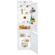 Combină frigorifică încorporabilă Liebherr ICUNS 3324, 256 L, NoFrost, Siguranţă copii, SuperFrost, Display, Control taste, H 178 cm, Clasa A++