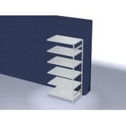 Discountoffice Systeemstelling Aanbouwveld HxBxD 2500x1310x835mm Vakl. 240kg