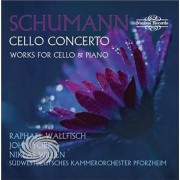 Video Delta Schumann / Wallfisch / Willen - Cello Concerto & Works For Cello & Piano - CD