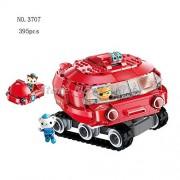 Generic The Octonauts Building Blocks All Set Octo-Pod Octopod Playset Educational Enlighten Bricks Toys for Children 3707