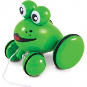 Vilac Youpla The Frog Pull Toy