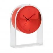 Kartell Air du Temps Klok - Transparant/Rood