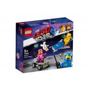 Set de constructie LEGO Movie Brigada spatiala a lui Benny
