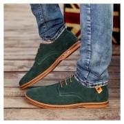 Zapatos Casuales Hombres Zapatos De Cuero Hombre Ante Oxfords Hombres