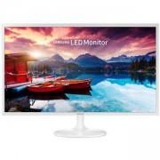 Монитор Samsung S32F351FUU, 31.5 инча, 5ms, 1920x1080, 2xHDMI, 250cd/m2, Mega DCR, Бял, LS32F351FUUXEN