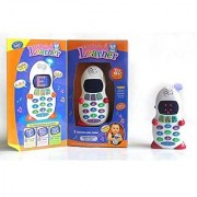 Shribossji Aptitude Learner Mobile Toy With Alphabet Numbers Counting And Greetings For Kids (Multicolor)