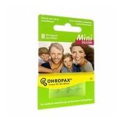 Silicone mini tampões para canais auditivos pequenos 8 unidades - Ohropax