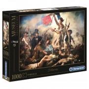Puzzle 1000 Piezas La Libertad Guiando al Pueblo - Clementoni