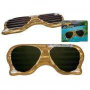 Merkloos Opblaasbaar matras zonnebril 174 cm