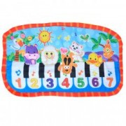 Paturica bebe muzicala educativa pian numere animale
