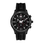 【85%OFF】12000C Herrenuhr Okeanos IP クロノグラフウォッチ ブラック ファッション > 腕時計~~メンズ 腕時計