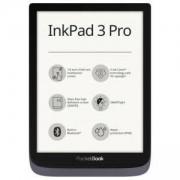 EBOOK четец PocketBook InkPad 3 PRO, PB740-2, 7.8 инча (1404x1872), 300 DPI, с включен калъф, тъмносив, POCKET-BOOK-PB7402-GREY