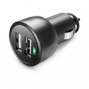Cellular Line USB Car Charger Dual Ultra - Fast Charge Universale Caric