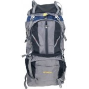 Fancy Outdoor Sport Camp, Hiking, Trekking Bag, Camping Rucksack, (black & grey) 03 Rucksack - 75 L(Grey)