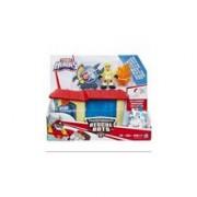 Jucarie Hasbro Playskool Heroes: Transformers Rescue Bots Griffin Rock Garage